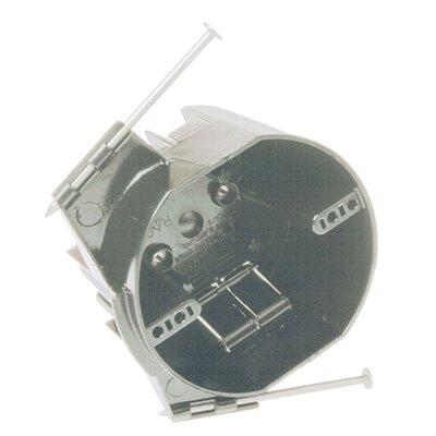 4 Round Ceiling Cable Box with Captive Nails