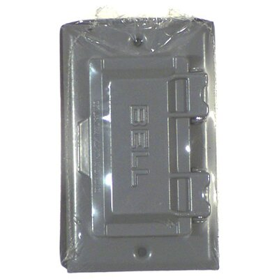 Single Gang Weatherproof GFCI Box Cover