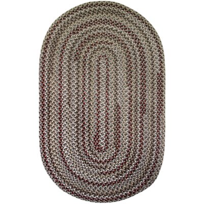 Vineyard Haven Sand Dunes Indoor/Outdoor Area Rug Rug size: Oval 56 x 86