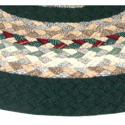 Minuteman Plaid Mix with Dark Green Solids Multi Runner Rug Rug Size: Runner 23 x 12