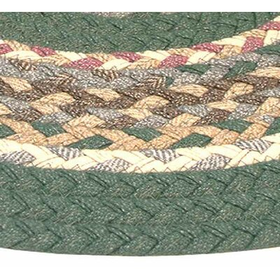 Minuteman Sage Green Solids with Mauve Accents Multi Runner Rug Rug Size: Runner 23 x 12