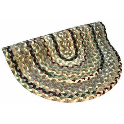 Beacon Hill Round Beige/Green Area Rug Rug Size: Round 6