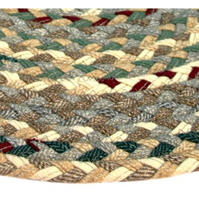 Beacon Hill Runner Beige/Green Area Rug Rug Size: Runner 23 x 6