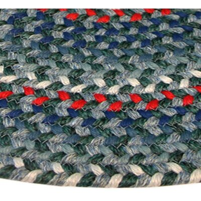 Pioneer Valley II Carribean Blue Multi Elongated Octagon Outdoor Rug Rug Size: Elongated Octagon 4 x 6