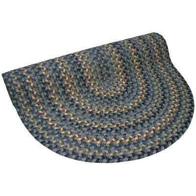 Pioneer Valley II Williamsbury Blue Multi Round Outdoor Rug Rug Size: Round 9