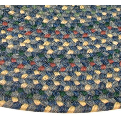 Pioneer Valley II Meadowland Blue Multi Elongated Octagon Rug Rug Size: Elongated Octagon 4 x 6