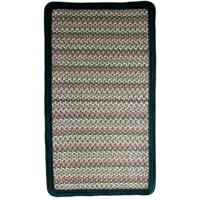 Pioneer Valley II Autumn Wheat with Dark Green Solids Multi Square Rug Rug Size: Square 2