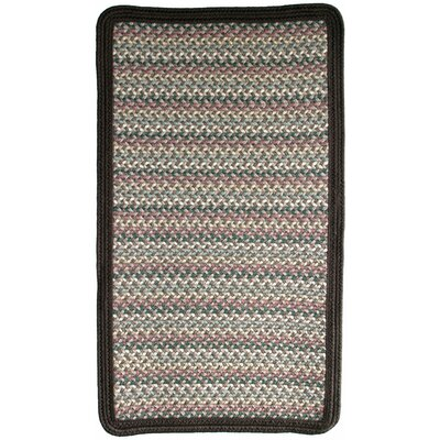Pioneer Valley II Autumn Wheat with Dark Brown Solids Multi Square Rug Rug Size: Square 2