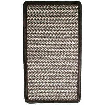 Green Mountain Fudge Brown/Tan Area Rug Rug Size: Square 2