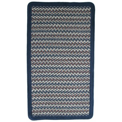 Green Mountain Lake Champlain Blue Area Rug Rug Size: Square 2