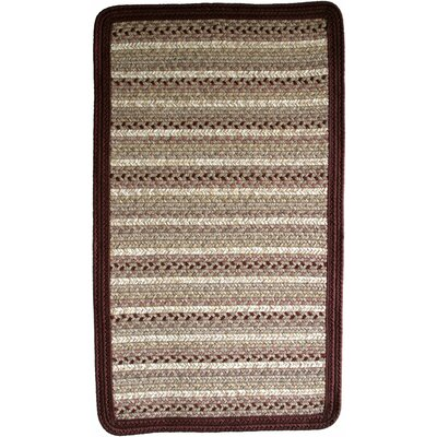 Beantown Tea Party Blend Brown/Tan Area Rug Rug Size: Square 10