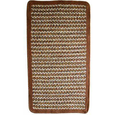 Beantown Spice Brown/Tan Area Rug Rug Size: Square 4
