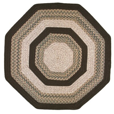 Beantown Baked Beans Octagon Tan/Brown Area Rug Rug Size: Octagon 4