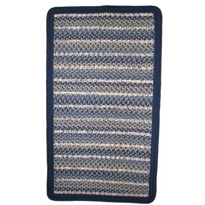 Beantown Charles River Blue Area Rug Rug Size: Square 10