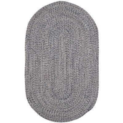 Town Crier Blue Heather Indoor/Outdoor Rug Rug Size: Oval 56 x 86