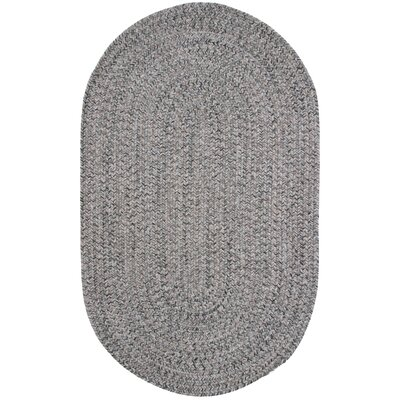Town Crier Green Heather Indoor/Outdoor Rug Rug Size: Oval 76 x 96