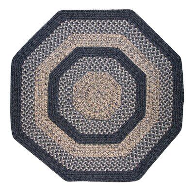 Thorndike Mills Town Crier Blue Indoor/Outdoor Rug - Rug Size: Octagon 4' x 4' at Sears.com