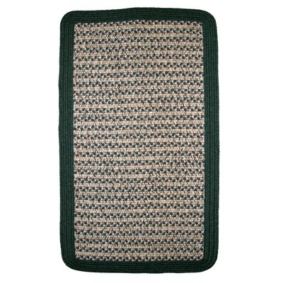 Thorndike Mills Town Crier Green Rug - Rug Size: Square  4' x 4' at Sears.com