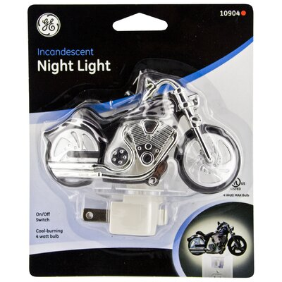 Incandescent Motorcycle Night Light
