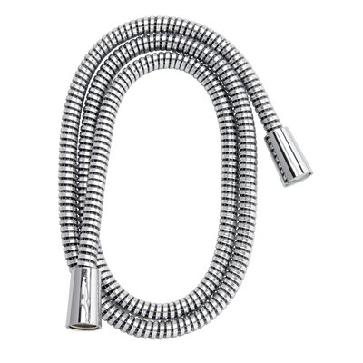 Stylewise 60 Vinyl Shower Hose With Polished Chrome and Black Finish