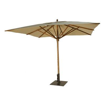 10 Square Market Umbrella Fabric: Beige