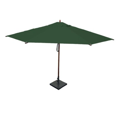 13 Market Umbrella Fabric: Forest Green