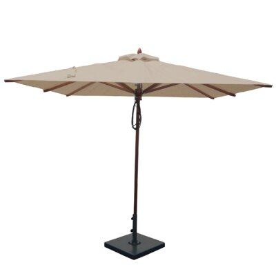 8 Square Market Umbrella Fabric: Beige