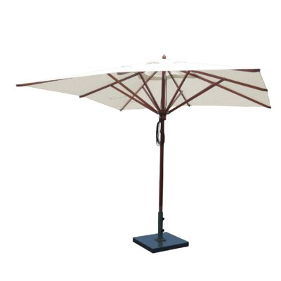 10 Square Market Umbrella Fabric: Natural