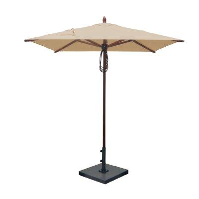 6.5 Square Market Umbrella Fabric: Beige