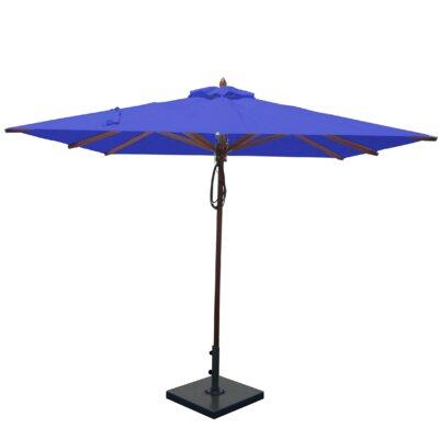 8 Square Market Umbrella Fabric: Ocean Blue