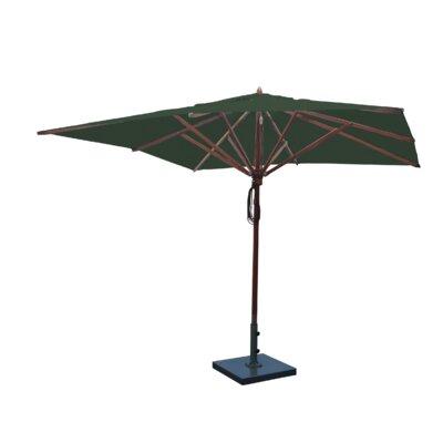 10 Square Market Umbrella Fabric: Forest Green