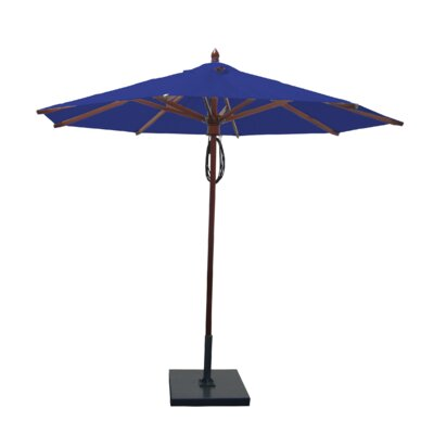 9 Market Umbrella Fabric: Ocean Blue