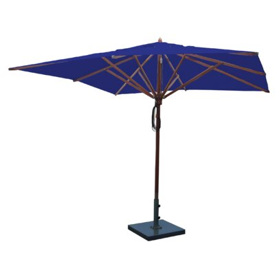 10 Square Market Umbrella Fabric: Ocean Blue