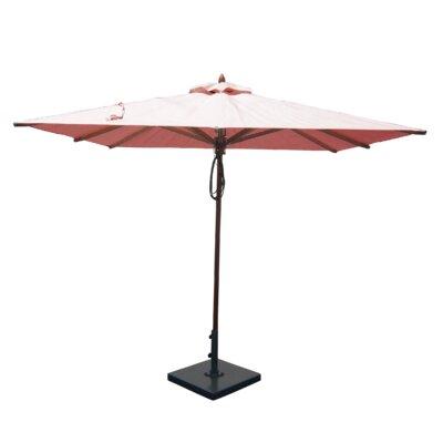 8' Square Market Umbrella Color: Rose Quartz