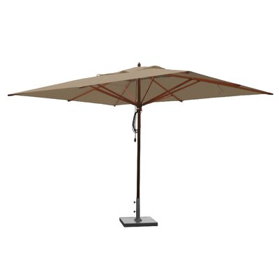 10 x 13 Rectangular Market Umbrella Fabric: Beige