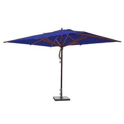 10 x 13 Rectangular Market Umbrella Fabric: Ocean Blue
