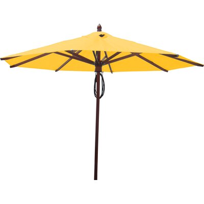 9 Market Umbrella Fabric: Sunflower Yellow