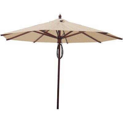 9 Market Umbrella Fabric: Beige