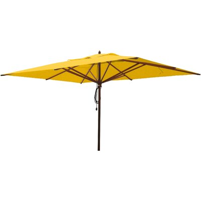 10 x 13 Rectangular Market Umbrella Fabric: Sunflower Yellow