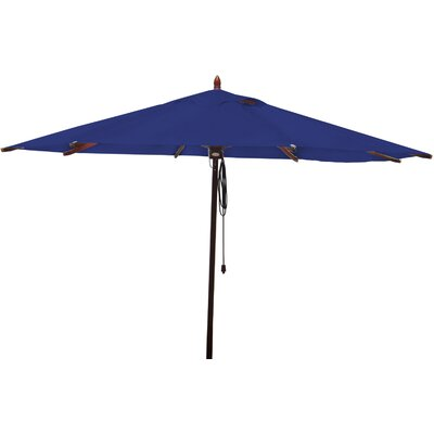 11 Market Umbrella Fabric: Ocean Blue