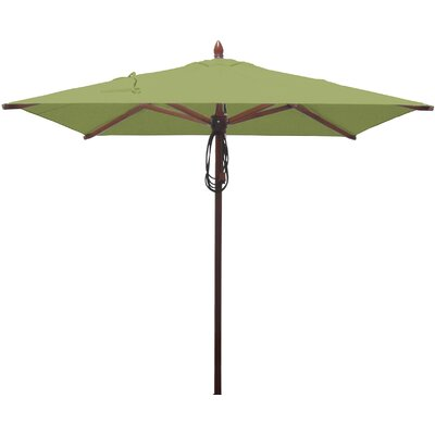 6.5 Square Market Umbrella Fabric: Lime Green