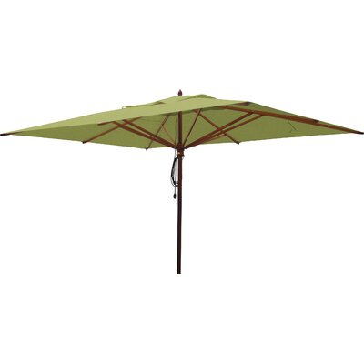 10 x 13 Rectangular Market Umbrella Fabric: Lime Green
