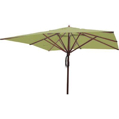 10 Square Market Umbrella Fabric: Lime Green