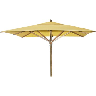 8 Square Market Umbrella Fabric: Sunflower Yellow