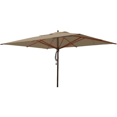 10 x 13 Rectangular Market Umbrella Fabric: Beige