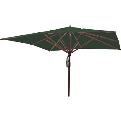 10 Square Market Umbrella Fabric: Forest Green