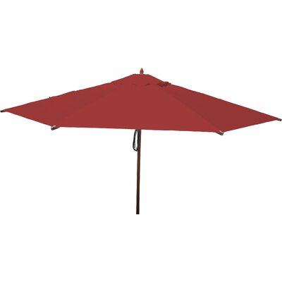 13 Market Umbrella Fabric: Jockey Red
