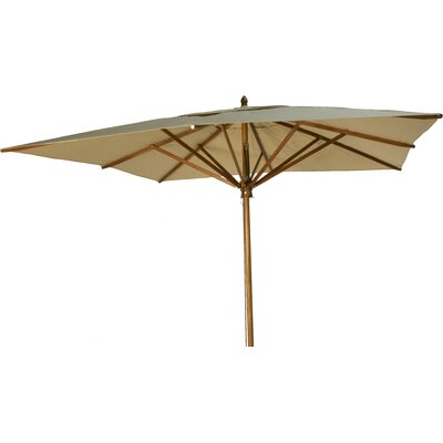 10 Square Market Umbrella Fabric: Beige