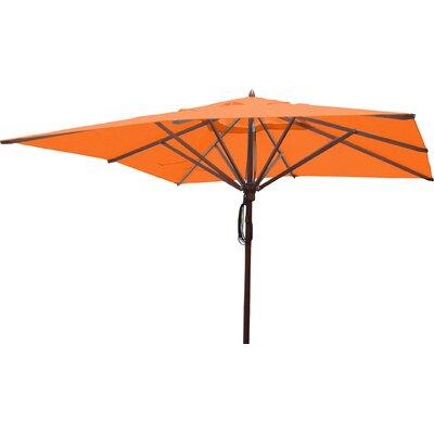 10 Square Market Umbrella Fabric: Orange