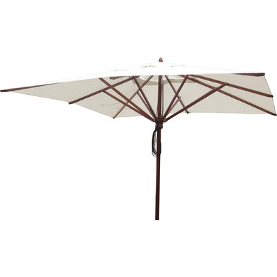 10 Square Market Umbrella Fabric: Natural